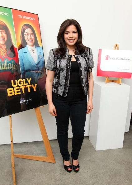 America Ferrera fue la intérprete de Uggly Betty Foto: Getty Images