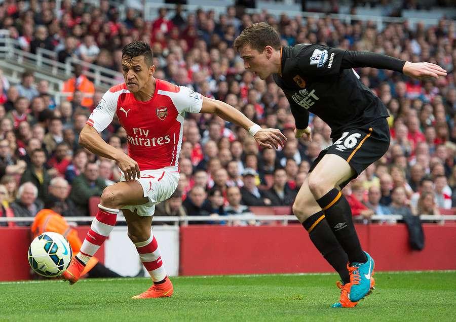 Alexis Sánchez será titular en el Arsenal ante el Dortmund. Foto: Agencia UNO