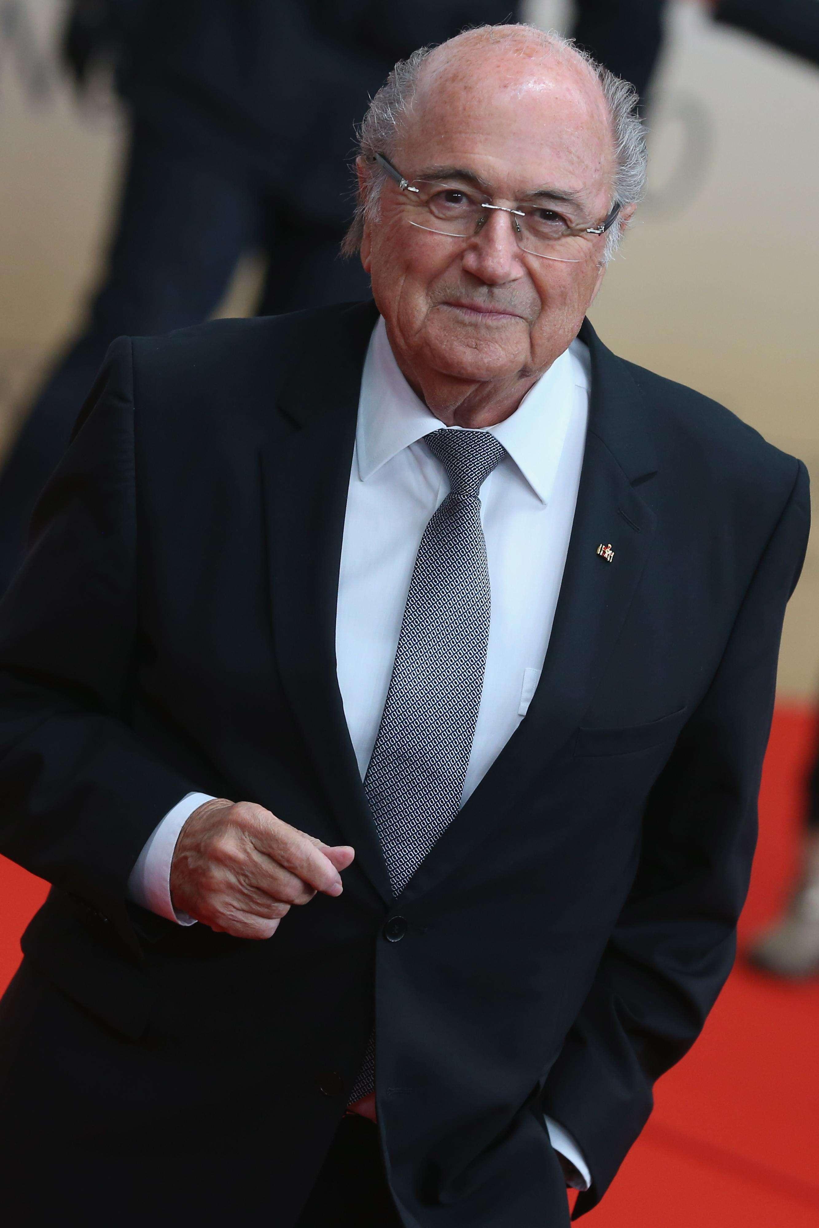 Blatter mandó saludos a Pelé. Foto: Getty Images