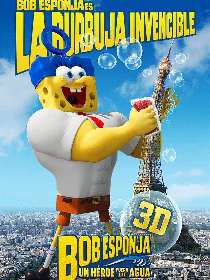 Nuevos posters de 'The SpongeBob Movie: Sponge Out of Water' - Bob Esponja Foto: Paramount Pictures México