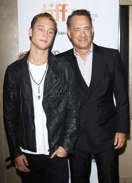 Chester Hanks, filho do ator Tom Hanks, falou sobre sua luta contra vício em drogas Foto: Getty Images