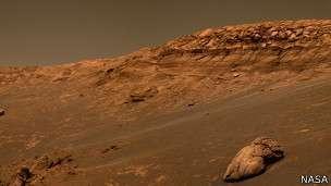 Las chances de desarrollar cáncer en una misión a Marte son de un 30%, según científicos. Foto: BBC Mundo/NASA