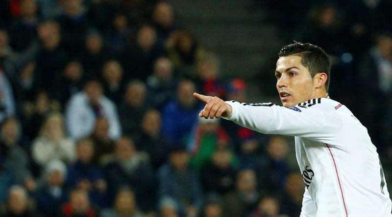 Cristiano Ronaldo comemora gol do Real Madrid contra o Basel nesta quarta-feira. Foto: Ruben Sprich/Reuters