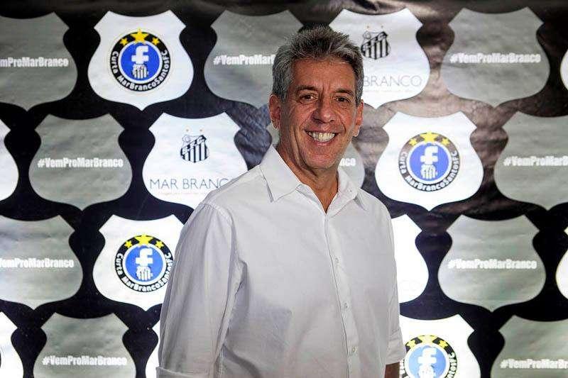 Fernando Silva, candidato da chapa Mar Branco Foto: Divulgação Facebook oficial da Mar Branco