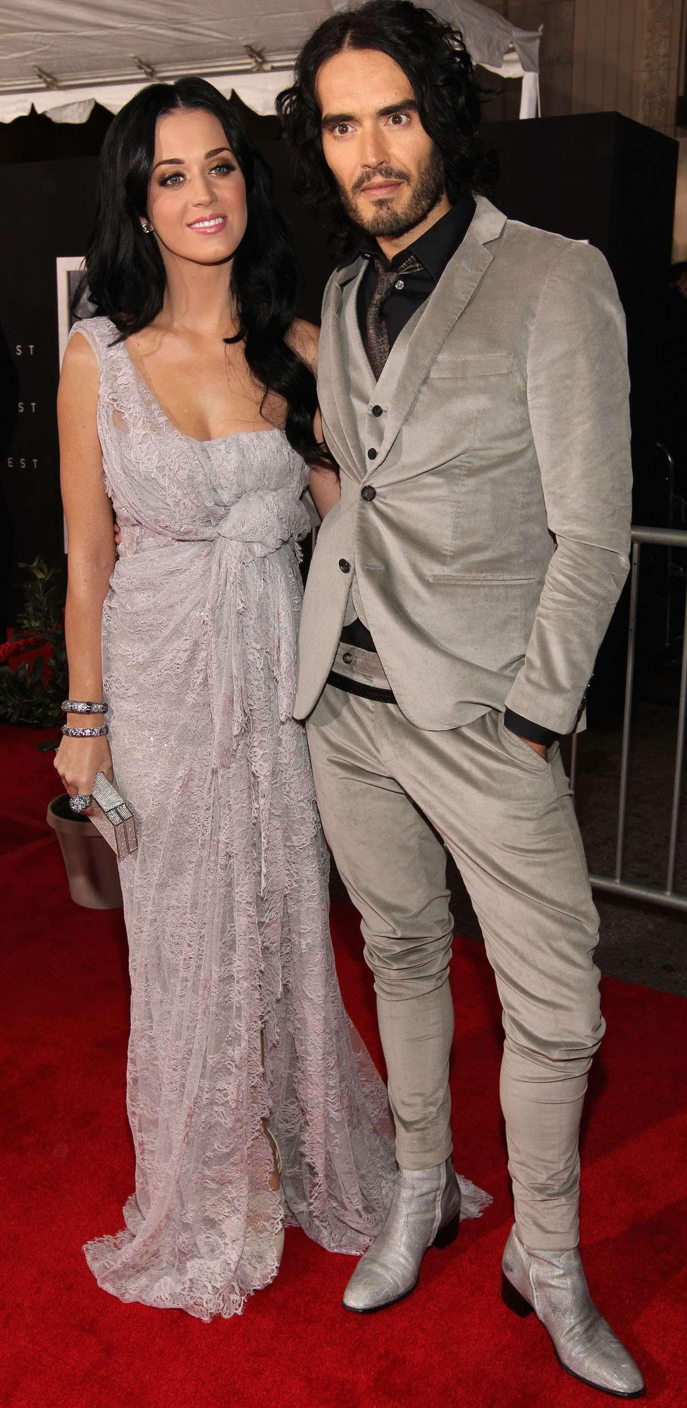 Katy Perry y Russell Brand estuvieron casados sólo por 14 meses (octubre 2010 - diciembre 2011) Foto: Getty Images