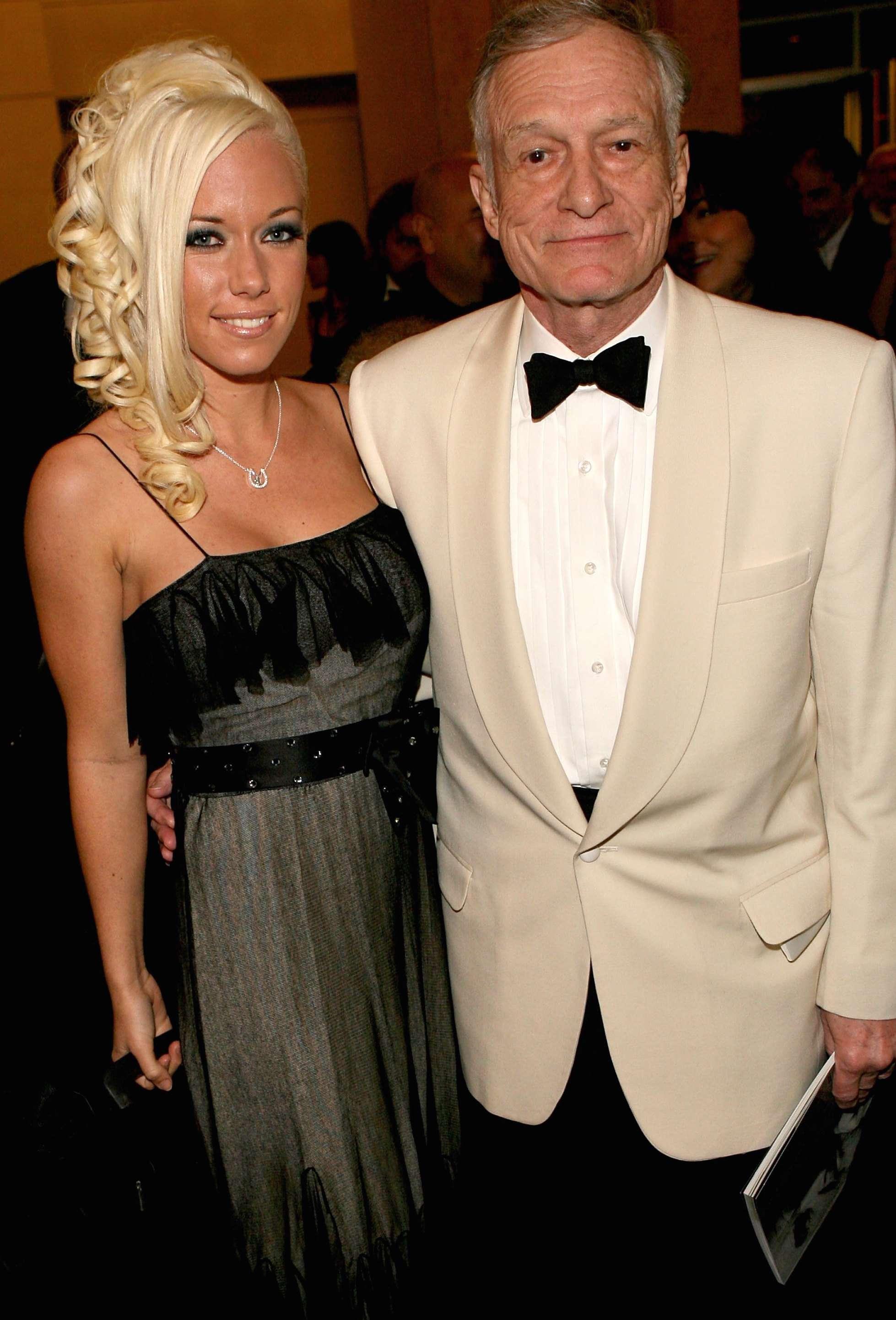 Kendra Wilkinson tuvo sexo con Hugh Hefner a los 18 años y él tenía 78. Foto: Getty Images