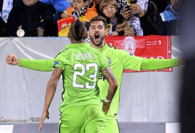 Fernando Llorente abrió el camino para la victoria de la Juventus sobre el Malmö. Foto: AFP