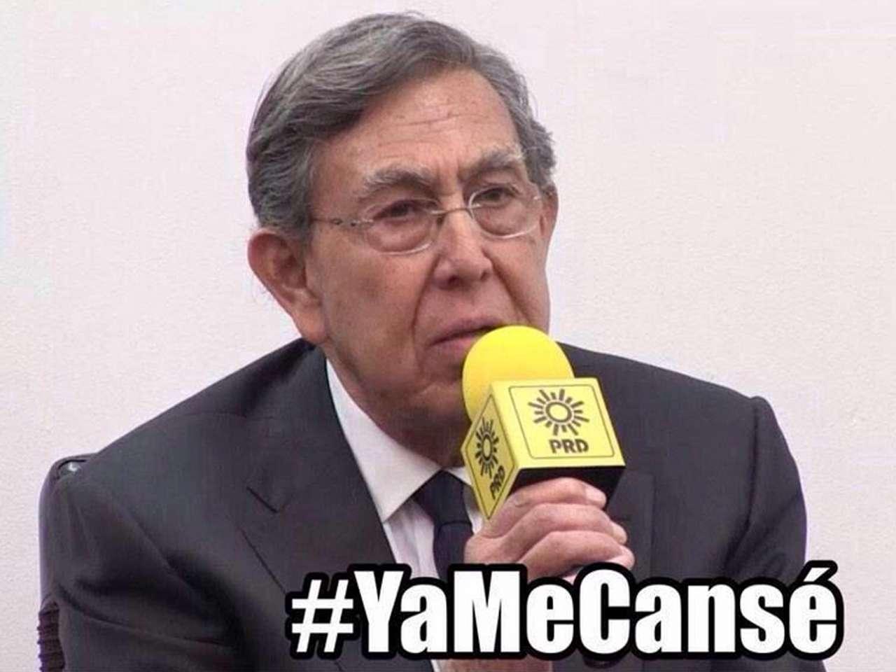 Memes de la renuncia de Cárdenas al PRD en redes sociales Foto: Twitter