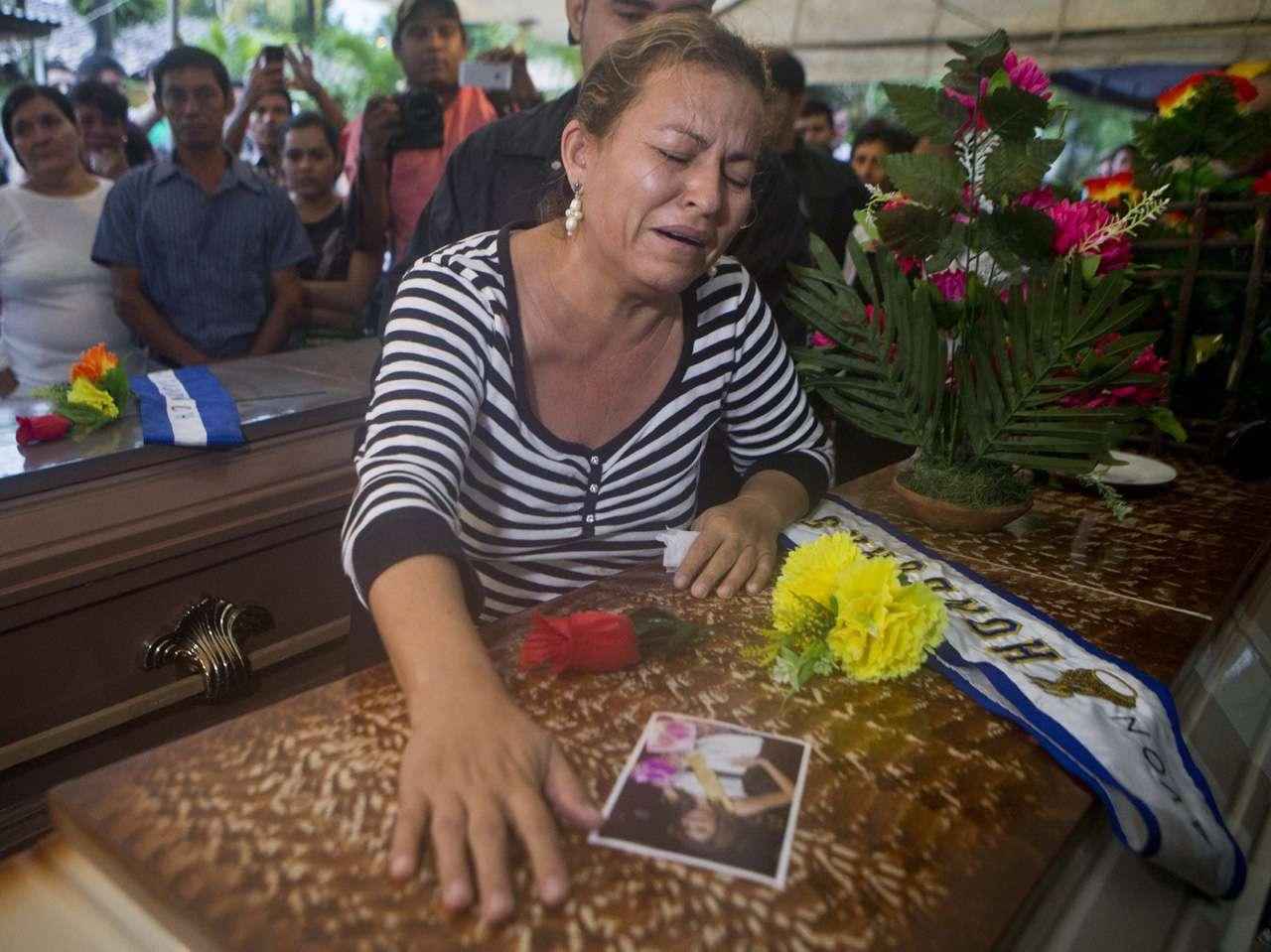 miss honduras teresa muñoz Foto: AP