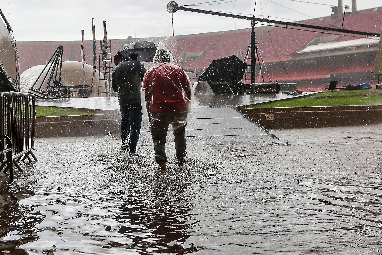Morumbi sofre com chuva desta quarta-feira Foto: Leandro Martins/Futura Press