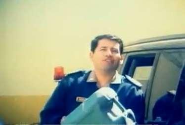 El Suboficial PNP Einer Herrera Polo está involucrado en el robo sistemático de combustible. Foto: ATV Noticias