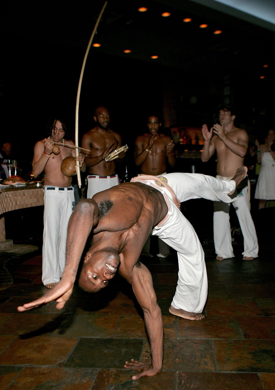 Capoeira é reconhecida como patrimônio da humanidade pela ONU Foto: Paul Hawthorne/Getty Images