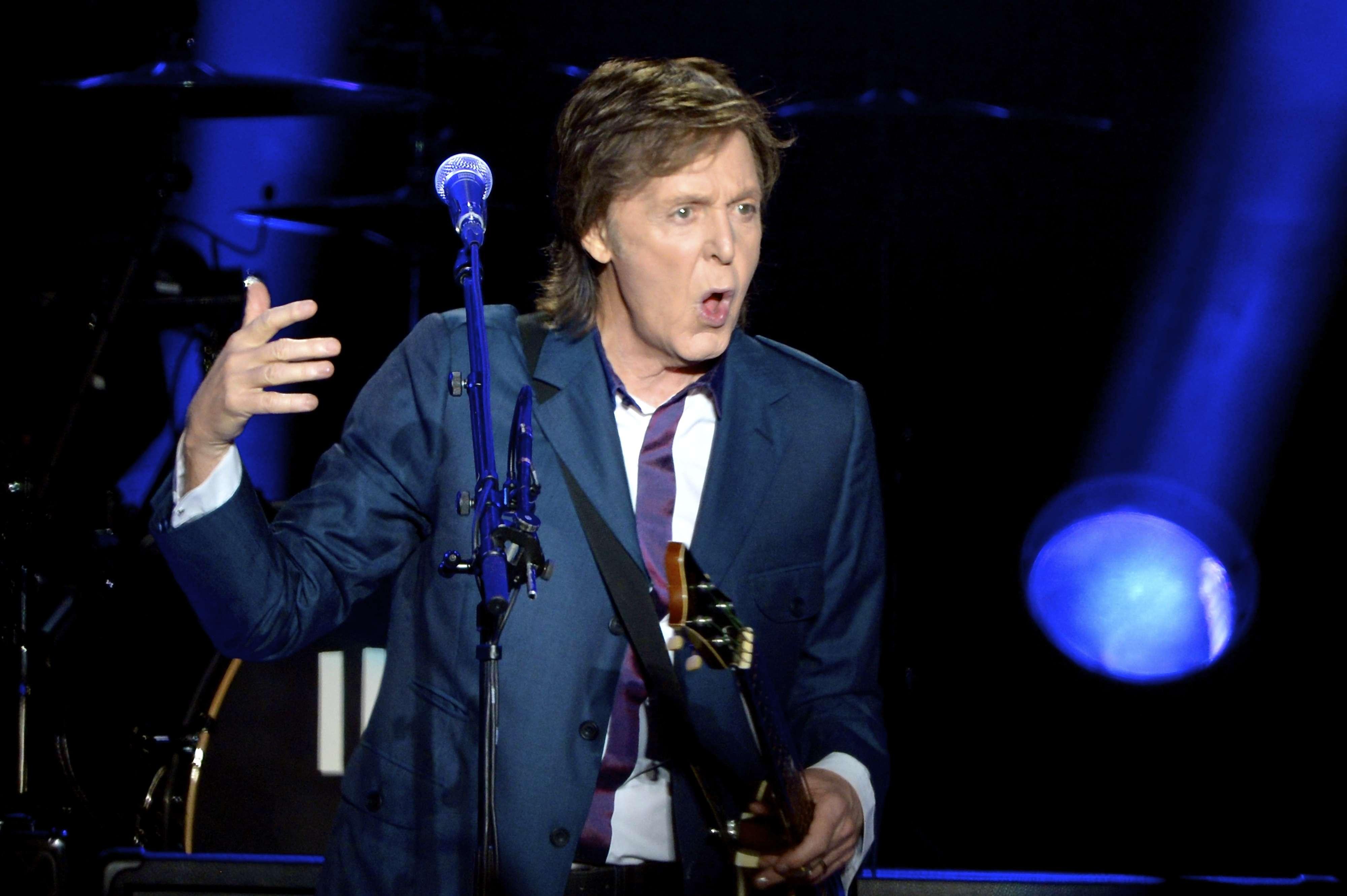 Paul McCartney se apresentou no Allianz Parque, em São Paulo, na noite dessa terça-feira (25) em parte da turnê Out There! O ex-Beatle sobe ao mesmo palco nesta quarta-feira (26). A atual excursão já passou pelo Rio de Janeiro, Espírito Santo e Brasília. Foto: Osmar Portilho/Terra
