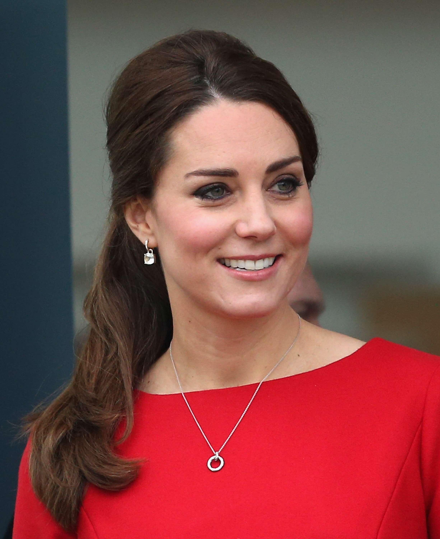 O sorriso bonito e natural da princesa Kate Middleton é resultado de um tratamento chamado micro rotações Foto: Getty Images