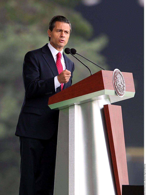 Lanza Peña nuevo plan de justicia Foto: Agencia Reforma