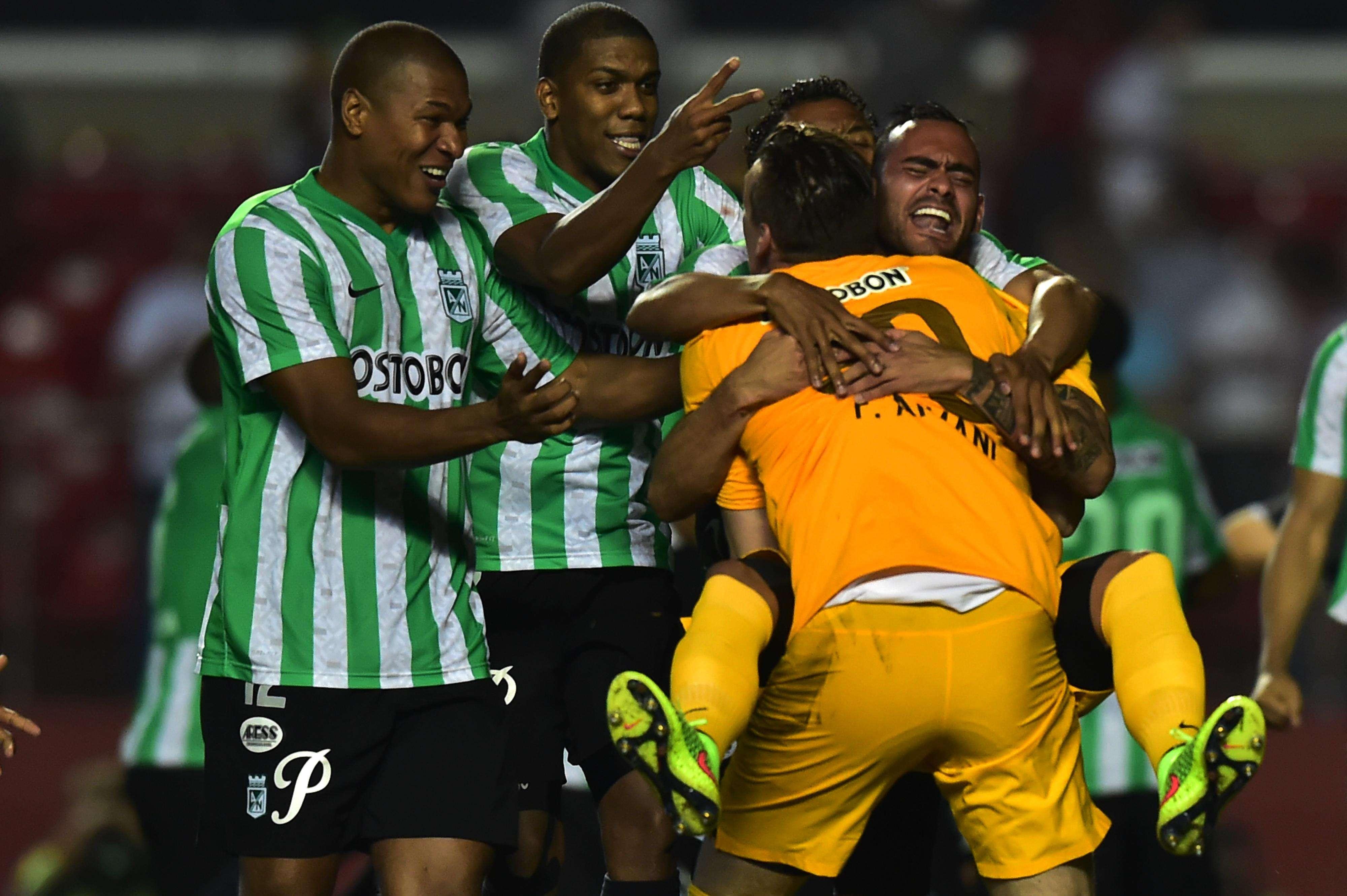 Atlético Nacional vence nos pênaltis e vai à final da Copa Sul-Americana Foto: Nelson Almeida/AFP