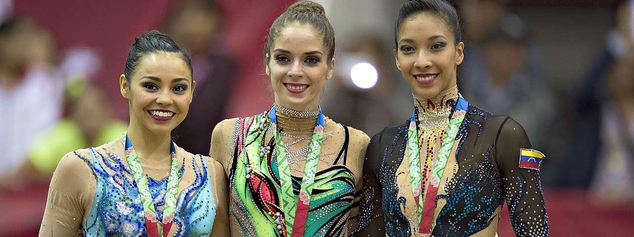 La elegancia de Cynthia Valdez se dejó plasmada en la prueba de listón. Foto: Mexsport