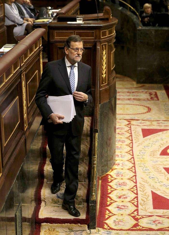 El presidente del Gobierno, Mariano Rajoy. Foto: EFE en español