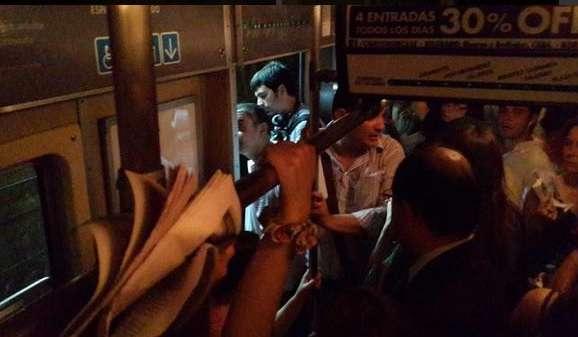 Cortes de luz en Buenos Aires. Foto: Twitter @ainvestigar