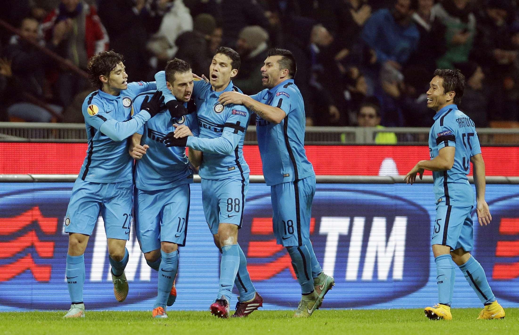 Inter de Milão conseguiu classificação Foto: Luca Bruno/AP