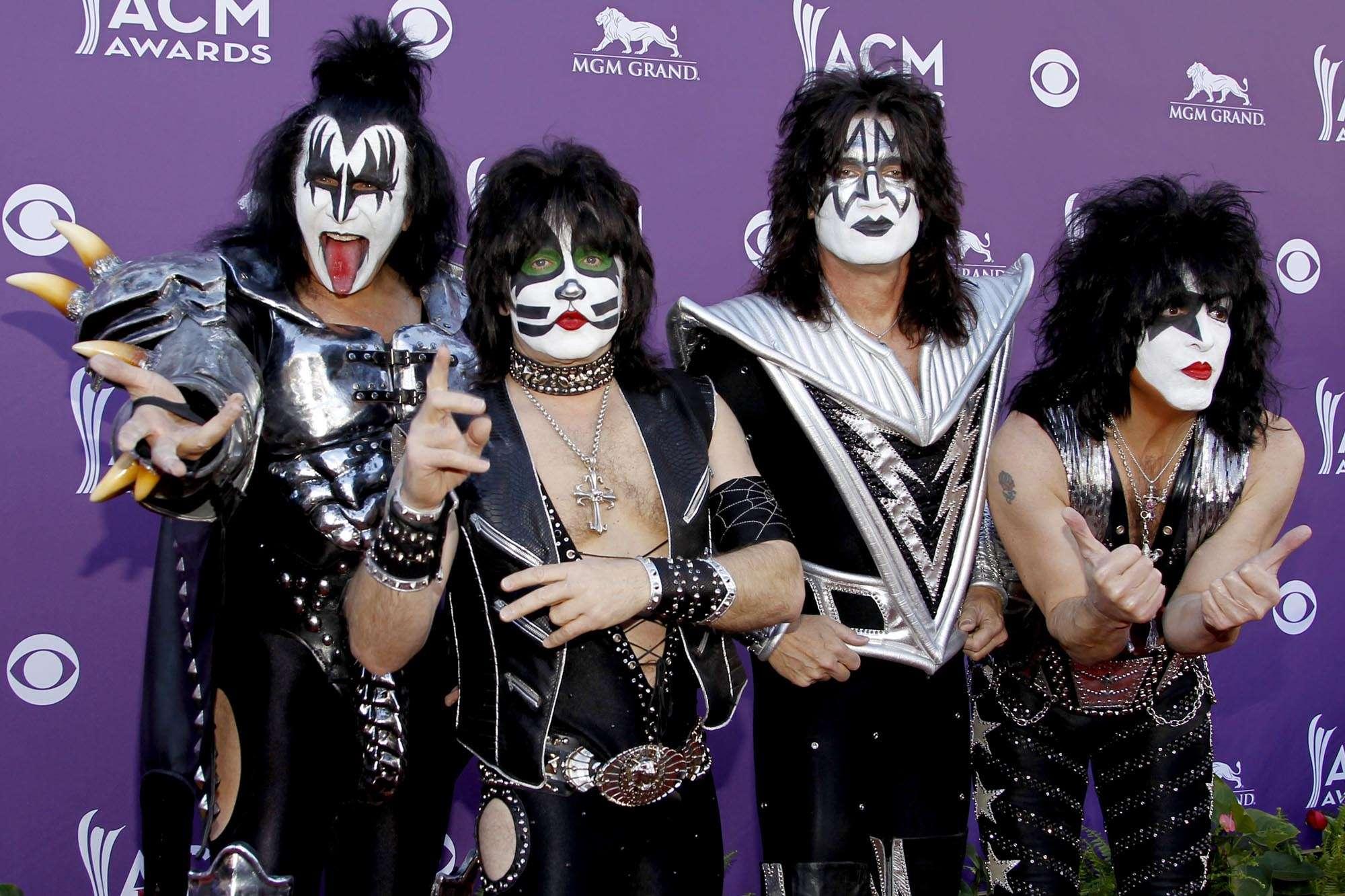La banda de las caras pintadas viene a Sudamérica en abril. Foto: Getty Images