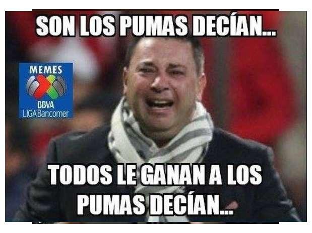 Muchas burlas para América por caer ante Pumas de la UNAM en los Cuartos de Final del Apertura 2014. Foto: Twitter