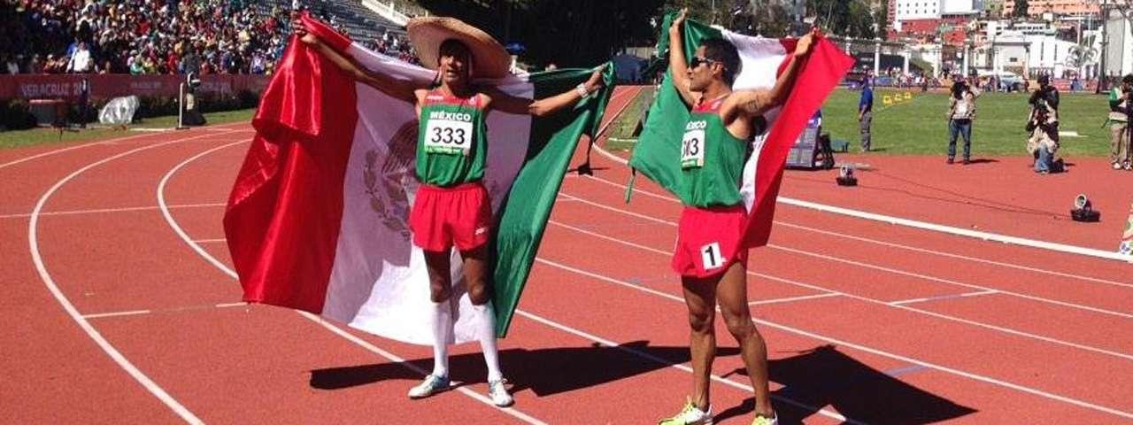 Barrios y Romero dan oro y plata a México. Foto: UAEM