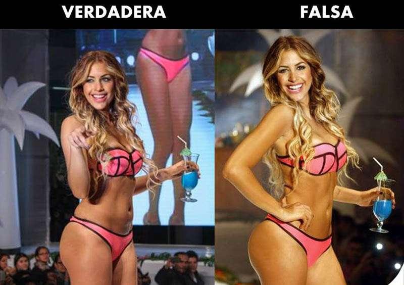 Milett Figueroa (Presunto Photoshop). Foto: Facebook