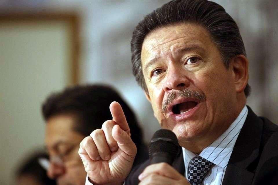 PRD criticó que plan de Peña Nieto no definió ni cómo y cuándo darán resultados. Foto: Reforma