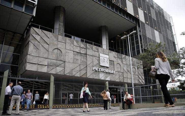 Entrada principal da sede da Petrobras no Rio de Janeiro. 14/09/2014. Foto: Sergio Moraes/Reuters