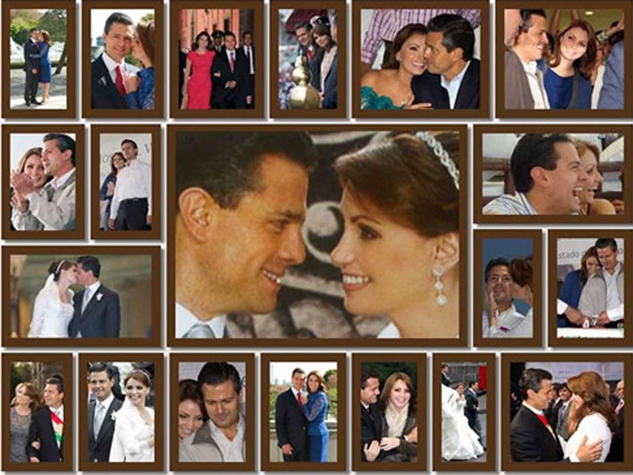 Escándalos a 4 años de la boda de Peña y Angélica Rivera Foto: Facebook/Angélica Rivera