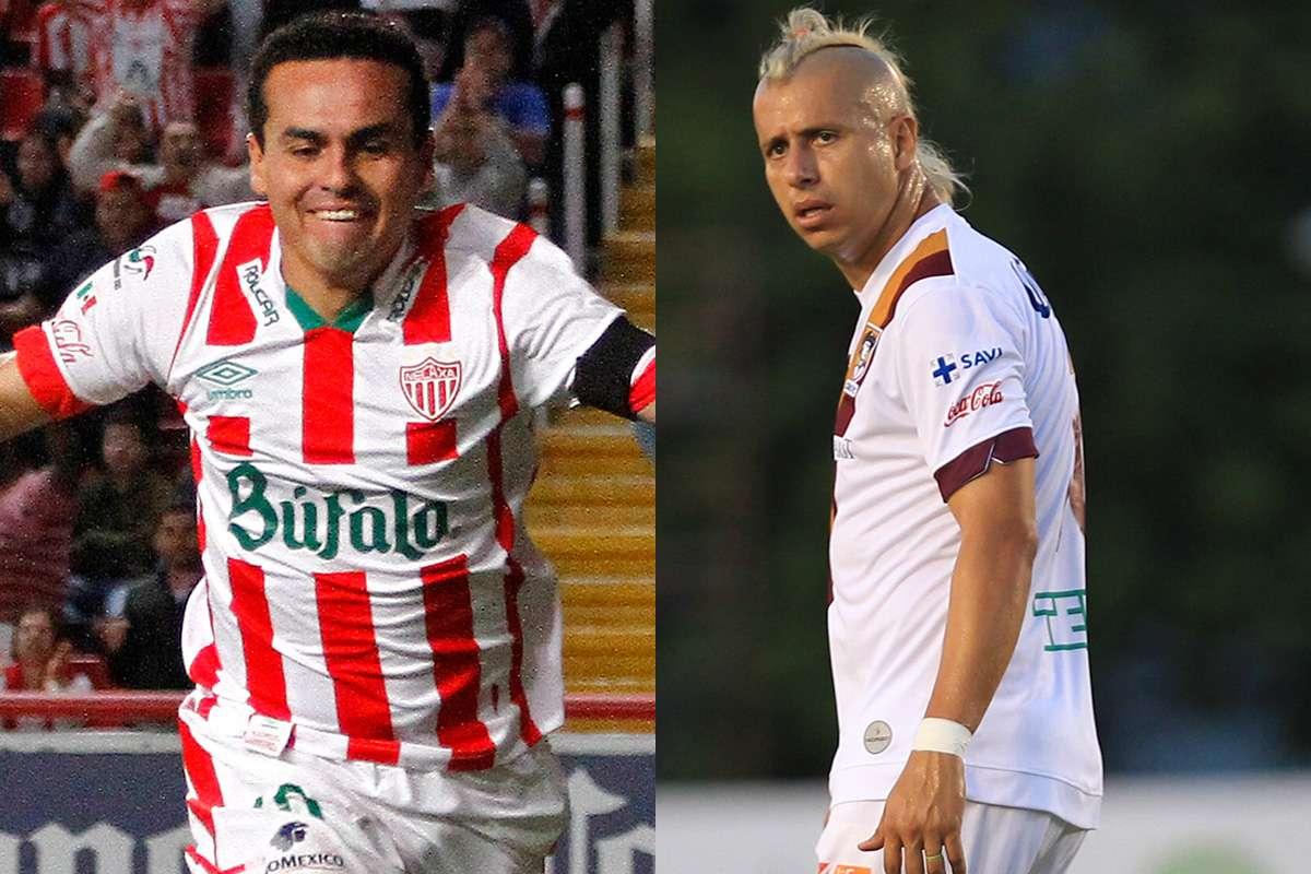 Víctor Lojero de Necaxa y Adolfo Bautista de Coras, son los referentes ofensivos para la Final de la Liga de Ascenso MX. Foto: Imago7