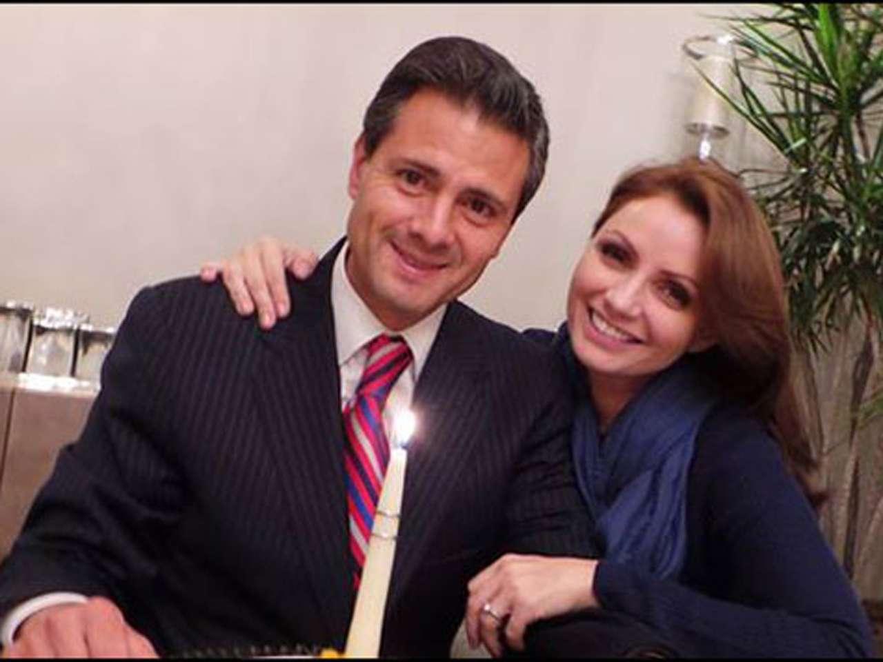 Escándalos a 4 años de la boda de Peña y Angélica Rivera Foto: Presidencia