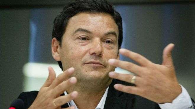Em visita ao Brasil, Thomas Piketty, crítico do capitalismo, defendeu maior transparência sobre riqueza e renda dos brasileiros Foto: AFP