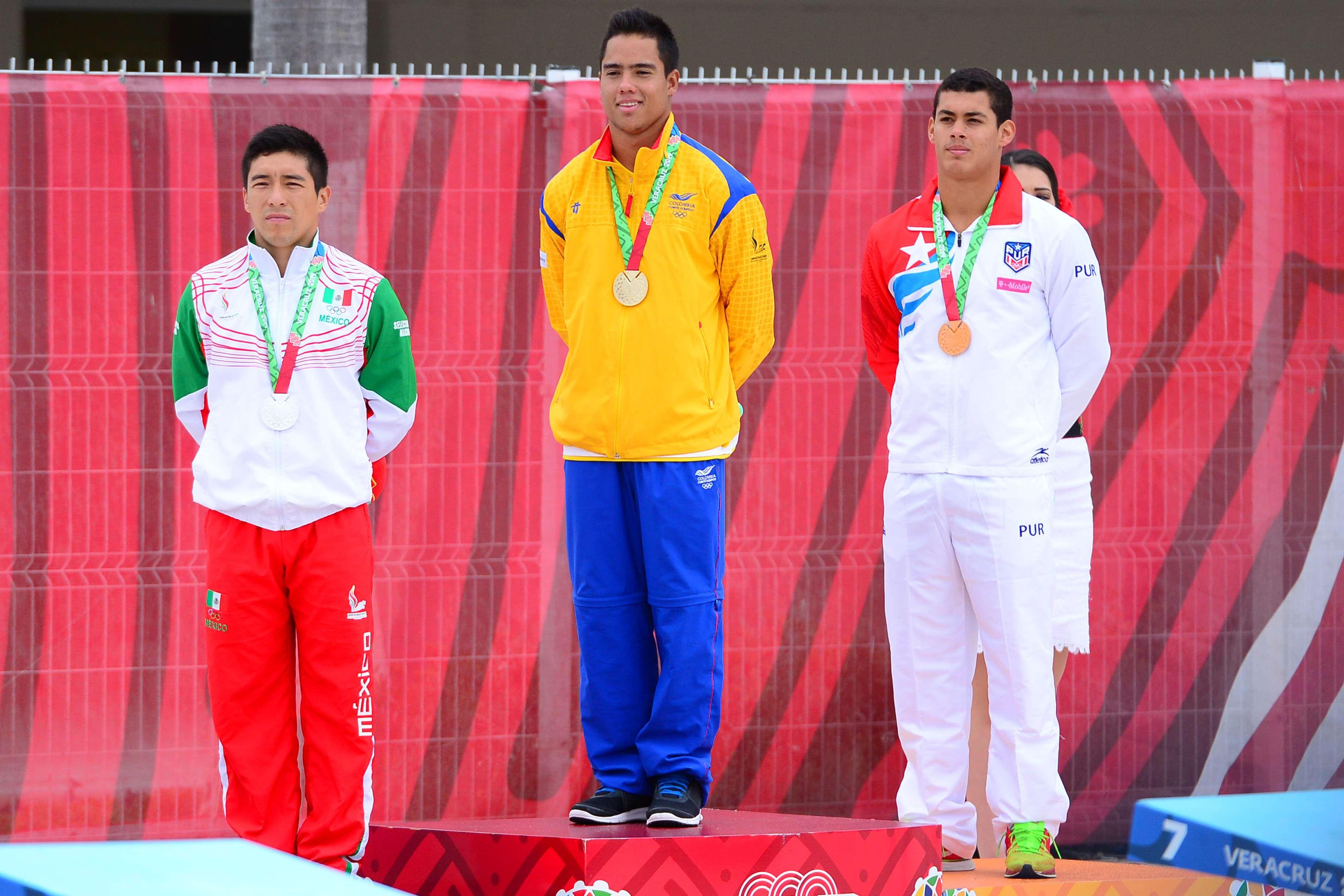 Colombia sube a lo más alto del podio. Foto: Mexsport