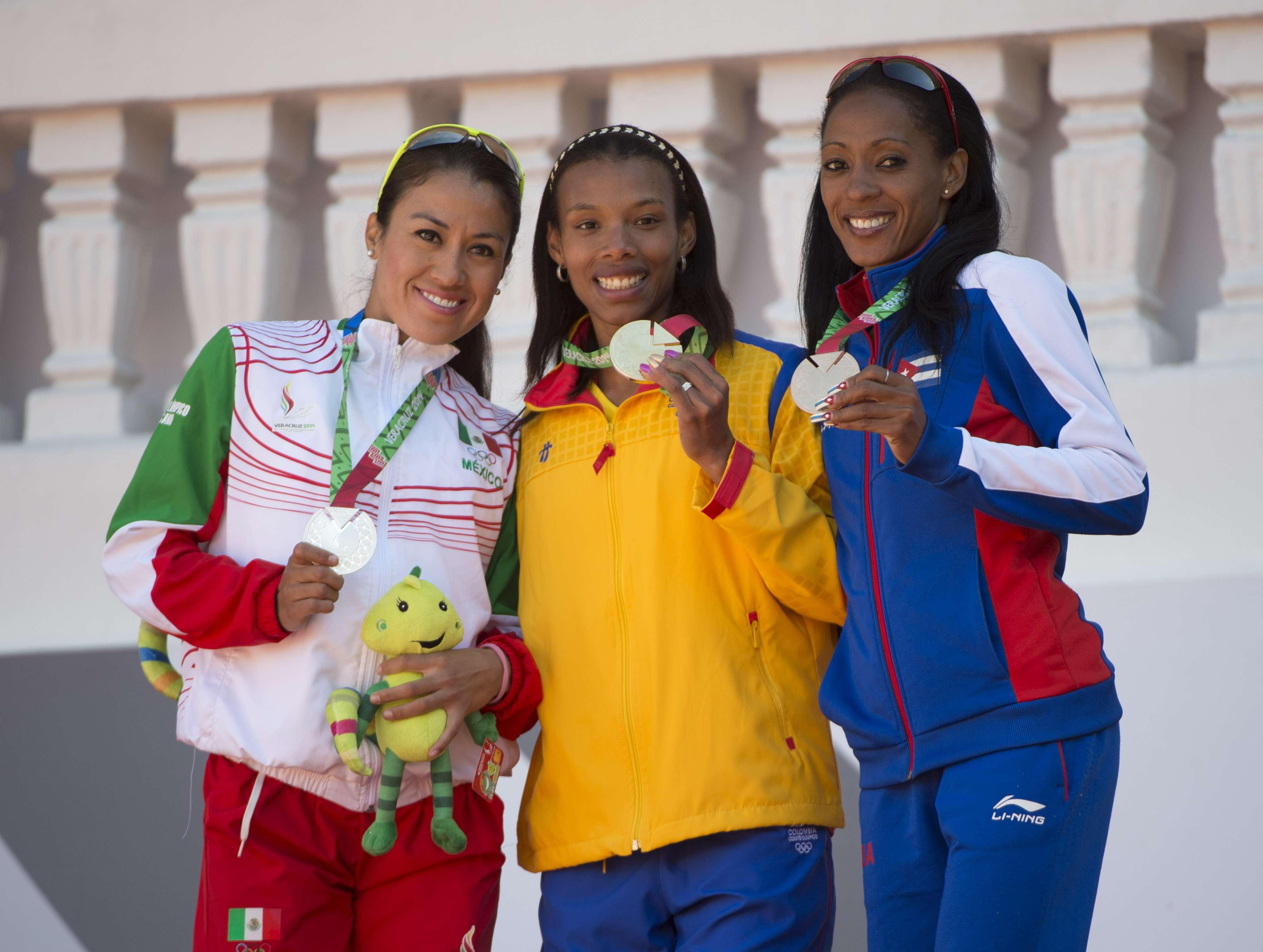 El podio tiene a Colombia en lo más alto. Foto: Mexsport