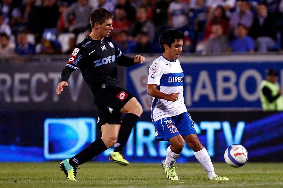 Diego Rojas casi no tuvo continuidad con Falcioni. Foto: Agencia UNO
