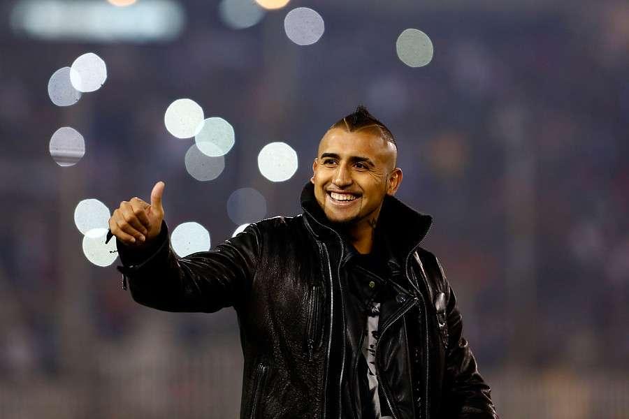 Vidal se suma a Claudio Bravo para ser los mejores del mundo. Foto: Agencia UNO