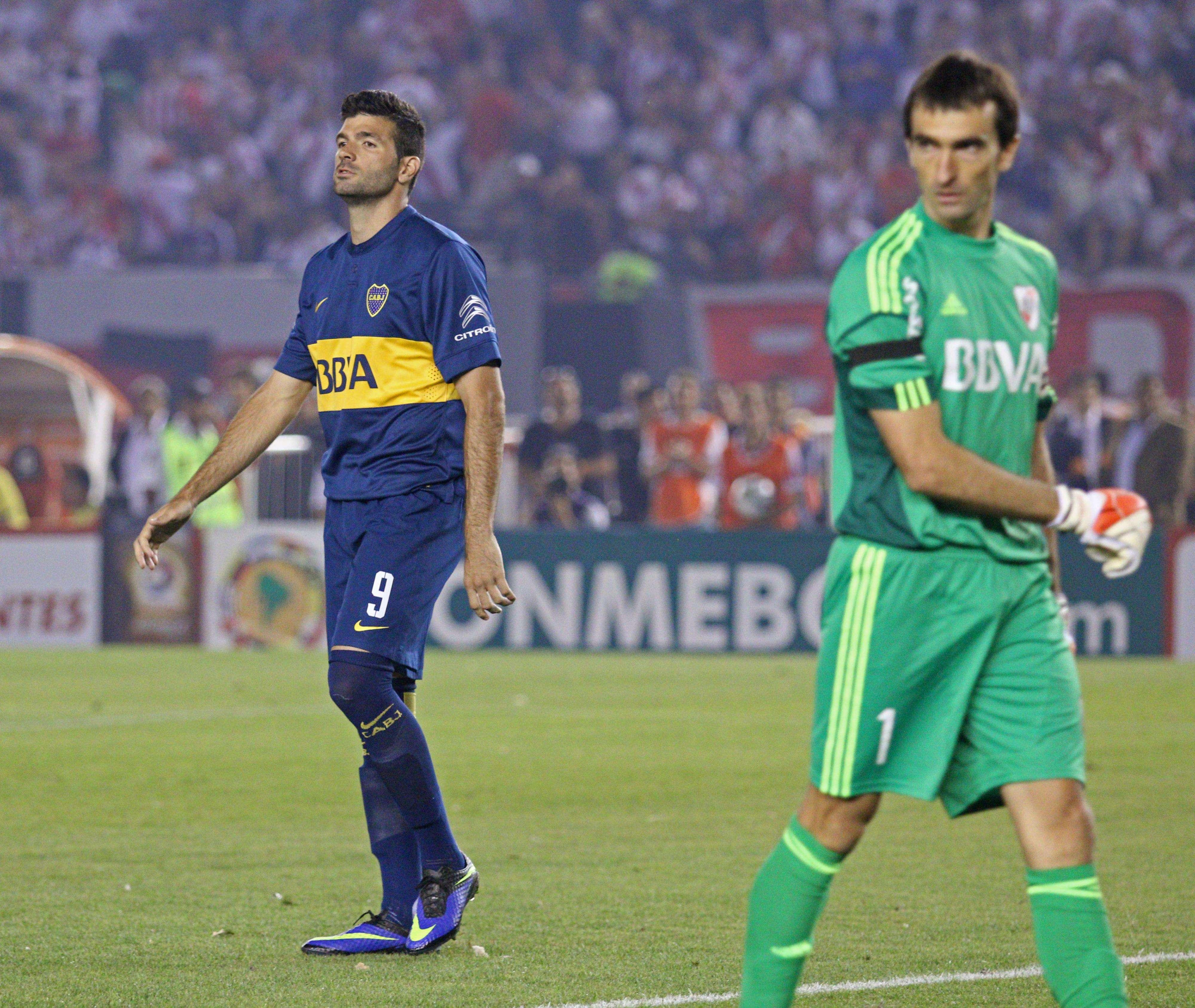 Barovero le detuvo el penal a Gigliotti al inicio del partido Foto: Noticias Argentinas