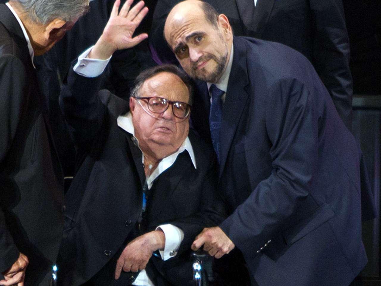 Édgar Vivar / Roberto Gómez Bolaños. Foto: Photo AMC