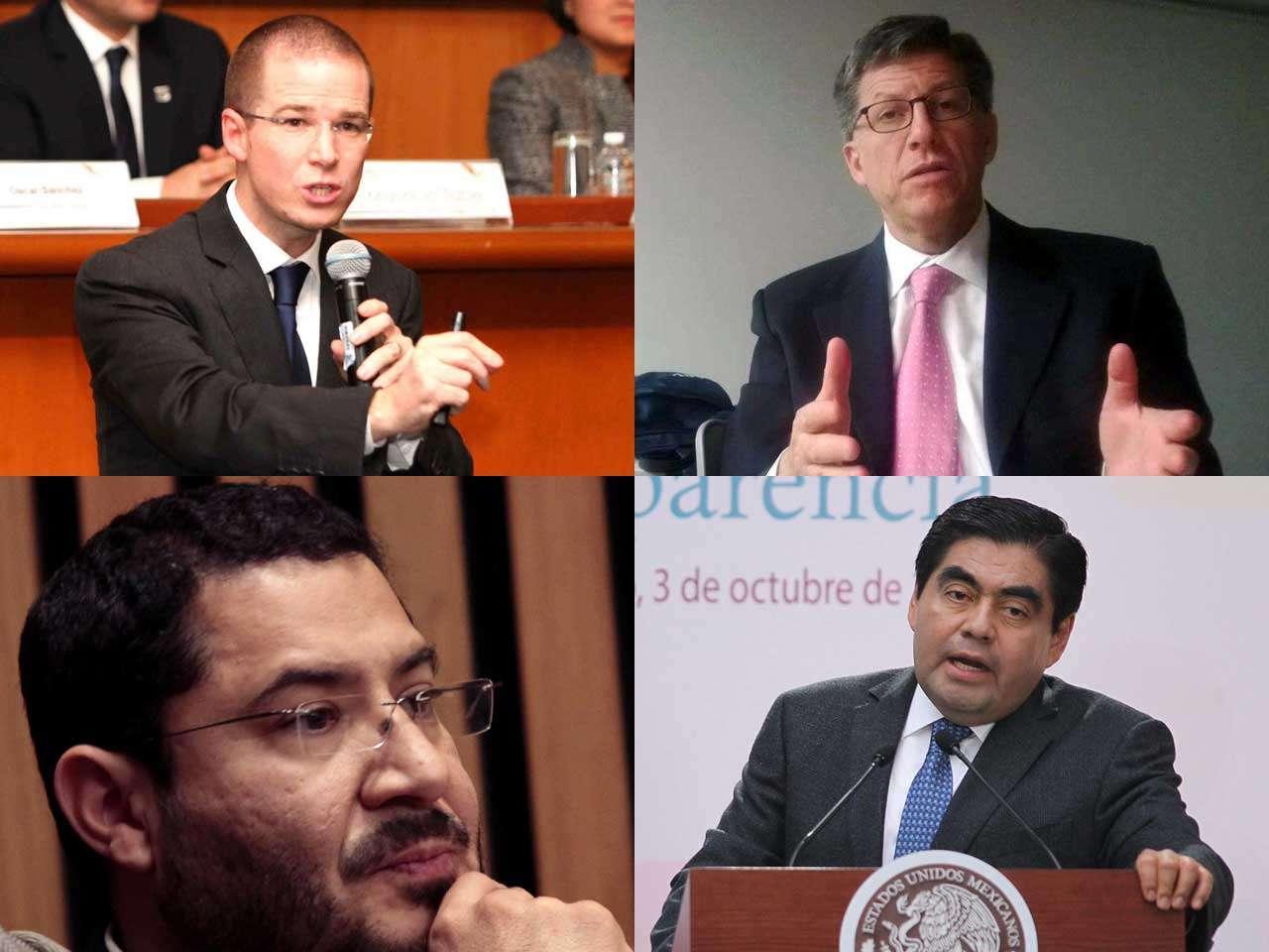 Políticos de partidos de oposición, la organización Human Rights Watch y normalistas de Guerrero expresaron posturas acerca del anuncio presidencial. Foto: Notimex y Reforma