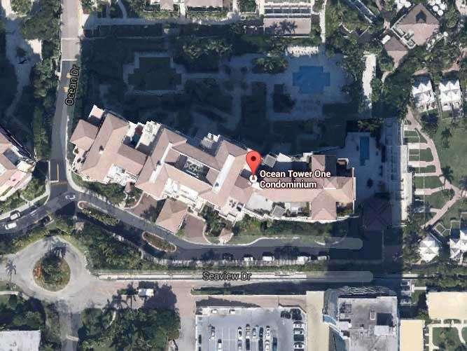 El inmueble, ubicado en 799 Crandon Blvd, Key Biscayne, Miami, fue adquirido en mayo de 2005 por 1.77 millones de dólares por la empresa Unit 304 Oto Inc., de la cual Rivera es directora. Foto: Google Maps