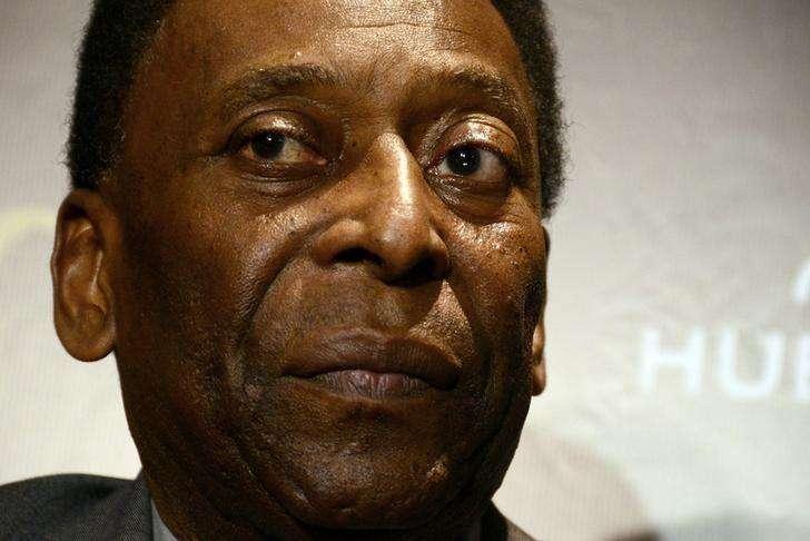 O ex-jogador Pelé durante evento no Rio de Janeiro, em fevereiro. 05/02/2014 Foto: Lucas Landau/Reuters