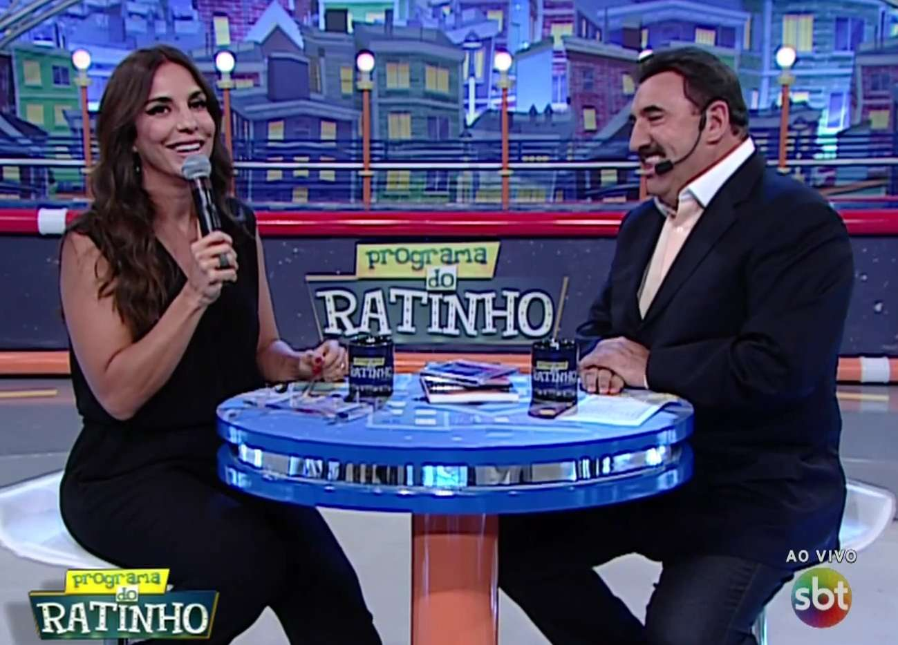 Ivete Sangalo deu bronca em Ratinho após criticas do apresentador à Claudia Leitte Foto: SBT / Reprodução
