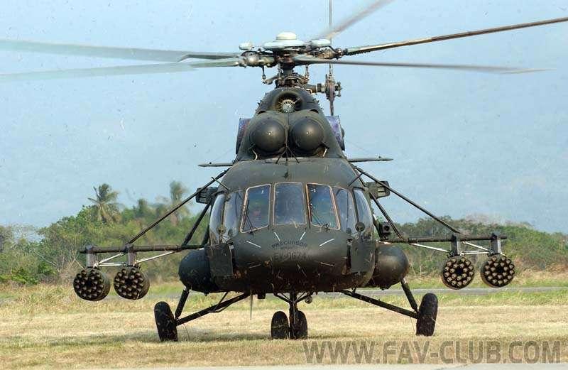 Helicóptero MI-17. Foto: Internet