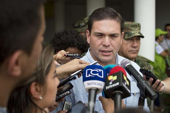 Juan Carlos Pinzón Foto: Getty Images