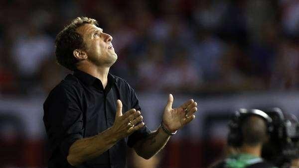 El Vasco se lamentó por las situaciones desperdiciadas por Boca. Foto: Reuters en español