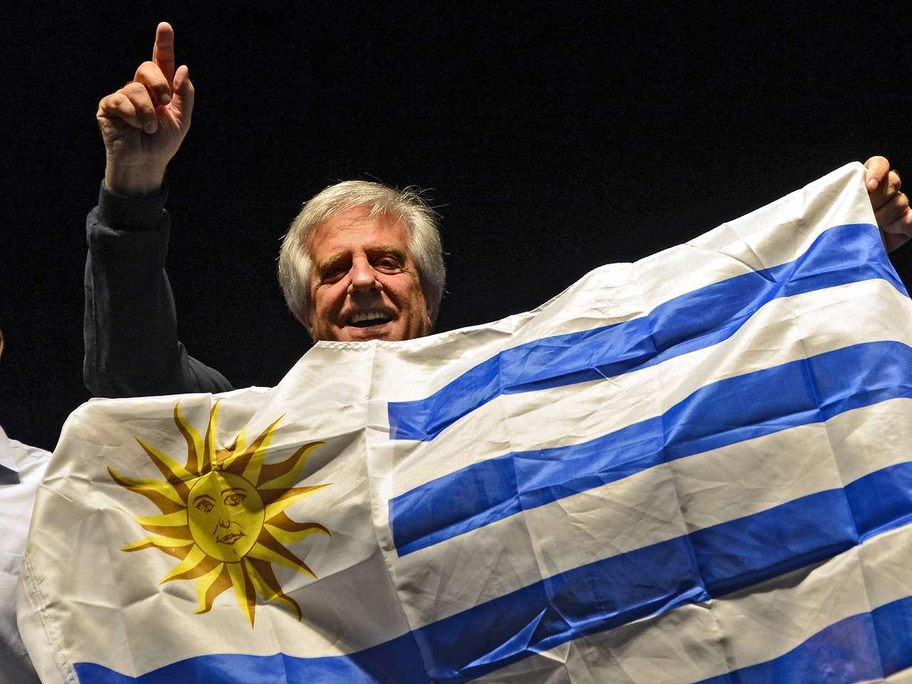 De ganar el domingo, Tabaré Vázquez sería por segunda vez presidente de Uruguay Foto: AFP en español