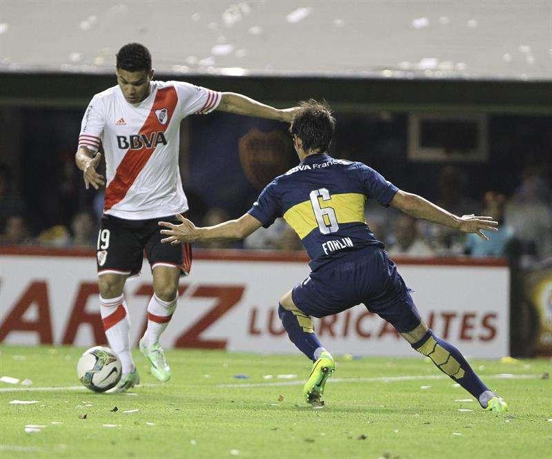 Teo jugará la final con River Plate. Foto: EFE en español