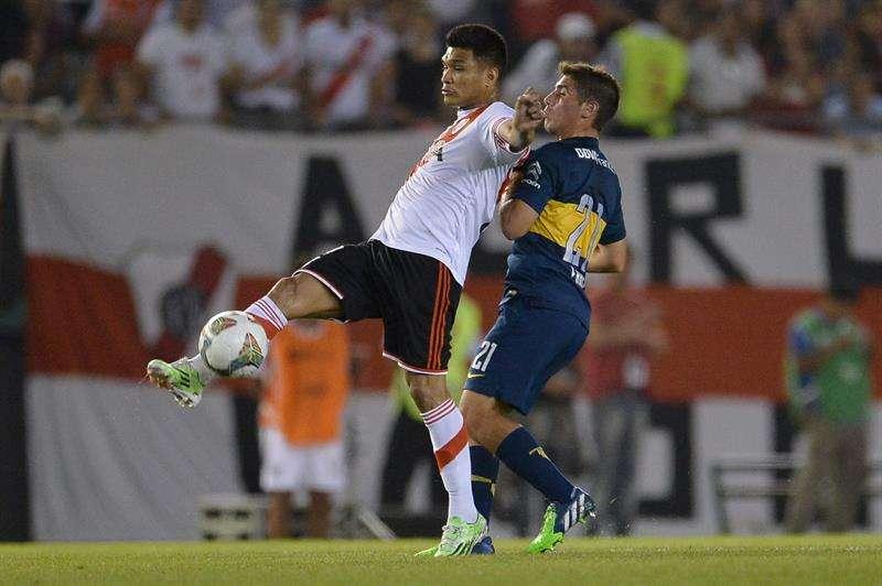 Teo buscará su primer título internacional con River Plate. Foto: EFE en español
